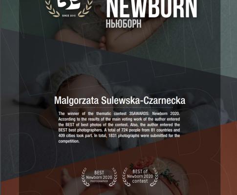 35awards – Newborn 2020 – Best photographer