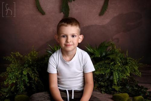 zdjęcia-roczek-rodzeństwo-dinozaury