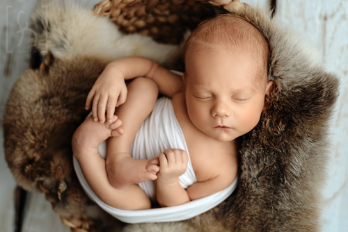 układanie-noworodka-sesja-zdjęciowa
