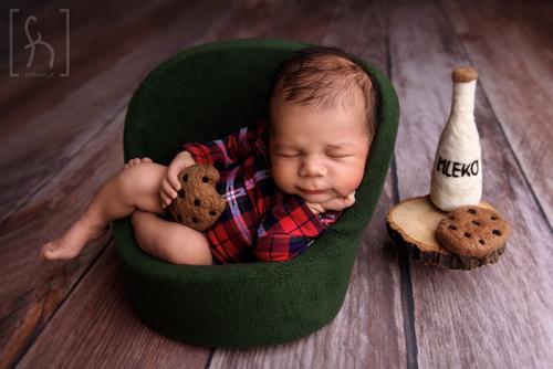 sesja świąteczna-noworodek-niemowlę-łódż-fotografia